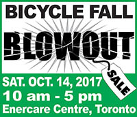 Toronto Bike Show Blowout - Oct3