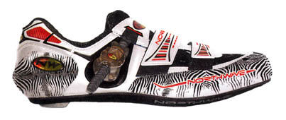 The new Genetix road shoe is now in stock and available in the Zebra