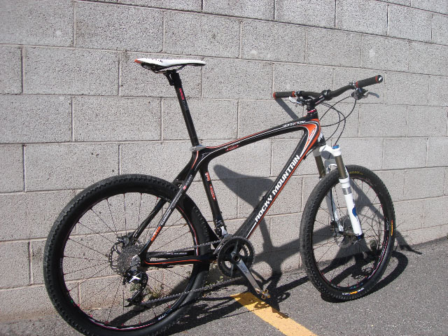 Geoff Kabush Bike