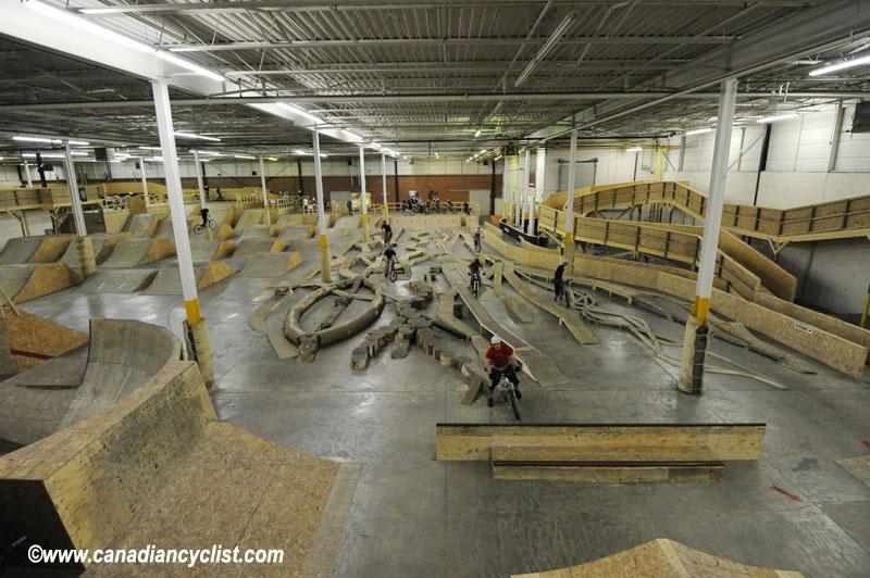 canadian cyclist joyride 150 southern ontarios indoor bike park