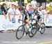 Zach Bell sprints against Matt Goss in the final 		CREDITS:  		TITLE:  		COPYRIGHT: www.canadiancyclist.com