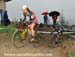 Mical Dyck leads Wendy Simms 		CREDITS:  		TITLE: 2012 Cyclocross Nationals 		COPYRIGHT: Rob Jones/www.canadiancyclist.com 2012- copyright- All rights retained - no use permitted without prior, written permission