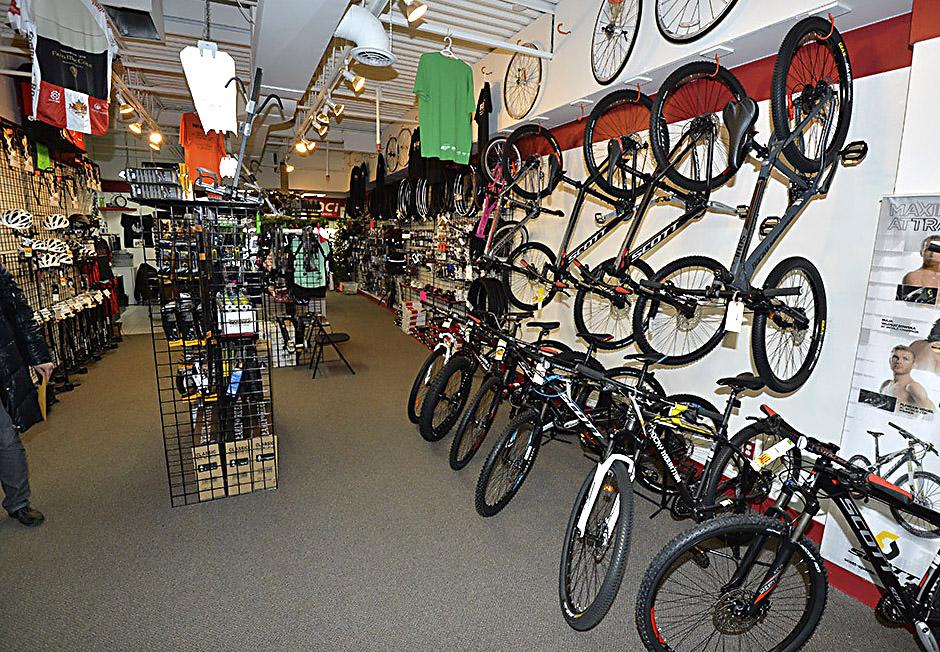 Bike Store Toronto PHOTO