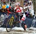 Mical Dyck (Canada) was top 10 on lap 1 		CREDITS:  		TITLE: 2013 Cyclo-cross World Championships 		COPYRIGHT: CANADIANCYCLIST