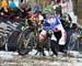 Amy Dombroski (USA) and Pepper Harlton (Canada) 		CREDITS:  		TITLE: 2013 Cyclo-cross World Championships 		COPYRIGHT: CANADIANCYCLIST