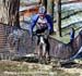Powers rides the steps 		CREDITS:  		TITLE: 2013 Cyclo-cross World Championships 		COPYRIGHT: CANADIANCYCLIST