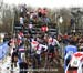 Traffic jam on the stairs 1st lap 		CREDITS:  		TITLE: 2013 Cyclo-cross World Championships 		COPYRIGHT: CANADIANCYCLIST