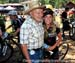 Emily Batty and her Grandfather 		CREDITS:  		TITLE: 2013 MTB Nationals 		COPYRIGHT: Rob Jones/www.canadiancyclist.com 2013 -copyright -All rights retained - no use permitted without prior, written permission
