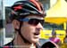 Tejay van Garderen does an interview 		CREDITS:  		TITLE: 2013 Tour de France 		COPYRIGHT: � Casey B. Gibson 2013
