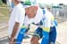 Svein Tuft cools down 		CREDITS:  		TITLE: 2013 Tour de France 		COPYRIGHT: � Casey B. Gibson 2013