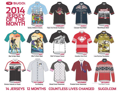The  Jersey of the Month  program allows us to utilize our expertise in  custom cycling apparel by creating a memorable product that will inspire  people to ... 781df9650