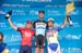 Stage podium 		CREDITS:  		TITLE: Amgen Tour of California, 2015 		COPYRIGHT: © Casey B. Gibson 2015