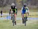Ruby West and Erica Leonard 		CREDITS:  		TITLE: 2016 Vaughan Cyclocross Classic 		COPYRIGHT: Rob Jones/www.canadiancyclist.com 2016 -copyright -All rights retained - no use permitted without prior; written permission