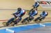 Canada wins the Worldcup teampursuit in Apeldoorn beating Belgium in the gold medal race 		CREDITS:  		TITLE: UCI Track Cycling World Cup 2016 		COPYRIGHT: Guy Swarbrick