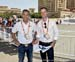 A couple of Canadians with the UCI - Vincent Jourdain and Matthew Knight 		CREDITS:  		TITLE: 2016 Road World Championships, Doha, Qatar 		COPYRIGHT: Rob Jones/www.canadiancyclist.com 2016 -copyright -All rights retained - no use permitted without prior;