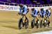 Canada Qualified 3rd 		CREDITS:  		TITLE: UCI Track Cycling World Cup Glasgow 2016 		COPYRIGHT: (C) Copyight 2016 Guy Swarbrick