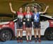 Junior Women IP podium: Kassandra Kriarakis, Ali Van Yzendoorn, Charlotte Tousignant 		CREDITS:  		TITLE:  		COPYRIGHT: Rob Jones - CanadianCyclist.com all rights reserved