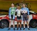 Podium: Jonathan Mitchell, Jair Tjon En Fa, Hugo Barrette 		CREDITS:  		TITLE: 2016 Milton Challenge - Men Sprint 		COPYRIGHT: Rob Jones/www.canadiancyclist.com 2016 -copyright -All rights retained - no use permitted without prior; written permission