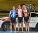 Official Championship podium - Pivin, Archambault, Lamaze 		CREDITS:  		TITLE: 2016 National Track Championships - Men Sprint 		COPYRIGHT: Rob Jones/www.canadiancyclist.com 2016 -copyright -All rights retained - no use permitted without prior; written per