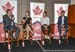 Canadian cycling stars Leah Kirchmann, Mike Woods and Alex Stieda took part in a panel discussion 		CREDITS:  		TITLE: 2017 Cycling Canada Gala in Victoria BC 		COPYRIGHT: Rob Jones - CanadianCyclist.com