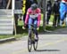 Sara Giovannetti (The Cyclery-4iiii) attacked in final laps and stayed away to take the win 		CREDITS:  		TITLE: 2017 Springbank road races 		COPYRIGHT: Rob Jones/www.canadiancyclist.com 2017 -copyright -All rights retained - no use permitted without prio