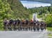 The peloton climbs Mont Morne 		CREDITS:  		TITLE: 2017 Tour de Beauce 		COPYRIGHT: Rob Jones/www.canadiancyclist.com 2017 -copyright -All rights retained - no use permitted without prior; written permission