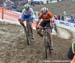 Eva Lechner (Italy) and Marianne Vos (Netherlands 		CREDITS:  		TITLE: 2017 Cyclocross World Championships 		COPYRIGHT: Rob Jones/www.canadiancyclist.com 2017 -copyright -All rights retained - no use permitted without prior; written permission