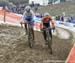 Eva Lechner (Italy) and Lucinda Brand (Netherlands) 		CREDITS:  		TITLE: 2017 Cyclocross World Championships 		COPYRIGHT: Rob Jones/www.canadiancyclist.com 2017 -copyright -All rights retained - no use permitted without prior; written permission