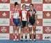 Kinley Gibson, Allison Beveridge, Annie Foreman-Mackey  		CREDITS:  		TITLE: 2017 Elite Track Nationals 		COPYRIGHT: Robert Jones-Canadian Cyclist
