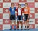 Tegan Cochrane, Lauriane Genest, Allison Beveridge 		CREDITS:  		TITLE: 2017 Elite Track Nationals 		COPYRIGHT: Rob Jones/www.canadiancyclist.com 2017 -copyright -All rights retained - no use permitted without prior; written permission