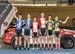 Team Sprint podium - Composite 1. Team Ontario, TaG 		CREDITS:  		TITLE: 2017 Track Nationals 		COPYRIGHT: Rob Jones/www.canadiancyclist.com 2017 -copyright -All rights retained - no use permitted without prior; written permission