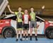 Time Trial podium - Tyler Davies, Riley Pickrell, Ethan Ogrodniczik  		CREDITS:  		TITLE: 2017 Track Nationals 		COPYRIGHT: Rob Jones/www.canadiancyclist.com 2017 -copyright -All rights retained - no use permitted without prior; written permission