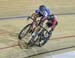 Junior Men Sprint 3-4 final, Tristan Guillemette vs Lucas Taylor  		CREDITS:  		TITLE: 2017 Track Nationals 		COPYRIGHT: Rob Jones/www.canadiancyclist.com 2017 -copyright -All rights retained - no use permitted without prior; written permission