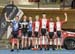 Team Sprint podium 		CREDITS:  		TITLE: 2017 Track Nationals 		COPYRIGHT: Rob Jones/www.canadiancyclist.com 2017 -copyright -All rights retained - no use permitted without prior; written permission