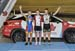 U17 Women Keirin podium - Elizabeth Archbold, Madison Dempster, Sarah Van Dam 		CREDITS:  		TITLE: 2017 Track Nationals 		COPYRIGHT: Rob Jones/www.canadiancyclist.com 2017 -copyright -All rights retained - no use permitted without prior; written permissio