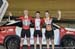 Scratch Race podium: Chris Ernst, Michael Foley, Eric Bartolomeo  		CREDITS:  		TITLE: 2017 Track Nationals 		COPYRIGHT: Rob Jones/www.canadiancyclist.com 2017 -copyright -All rights retained - no use permitted without prior; written permission