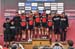 BMC Mountainbike Racing Team best team on the day 		CREDITS:  		TITLE: 2017 Mont-Sainte-Anne World Cup 		COPYRIGHT: Rob Jones/www.canadiancyclist.com 2017 -copyright -All rights retained - no use permitted without prior; written permission