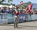 Sina Frei gave the Swiss their first gold of the day 		CREDITS:  		TITLE: 2017 MTB World Championships, Cairns Australia 		COPYRIGHT: Rob Jones/www.canadiancyclist.com 2017 -copyright -All rights retained - no use permitted without prior; written permissi
