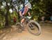Sandy Floren (USA) 		CREDITS:  		TITLE: 2017 MTB World Championships, Cairns Australia 		COPYRIGHT: Rob Jones/www.canadiancyclist.com 2017 -copyright -All rights retained - no use permitted without prior; written permission