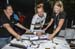 One of the duties of a new world champion is to sign jerseys for sponsors 		CREDITS:  		TITLE: 2017 MTB World Championships, Cairns Australia 		COPYRIGHT: Rob Jones/www.canadiancyclist.com 2017 -copyright -All rights retained - no use permitted without pr