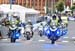 Apparently, Norway has only 17 police motorcycle officers and they are all currently in Bergen 		CREDITS:  		TITLE: 2017 Road World Championships, Bergen, Norway 		COPYRIGHT: Rob Jones/www.canadiancyclist.com 2017 -copyright -All rights retained - no use