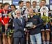 UCI President Brian Cookson presents the trophy to Team Sunweb DS 		CREDITS:  		TITLE: 2017 Road World Championships, Bergen, Norway 		COPYRIGHT: Rob Jones/www.canadiancyclist.com 2017 -copyright -All rights retained - no use permitted without prior; writ