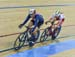 Hammer tries to take a lap late in the race 		CREDITS:  		TITLE: 2017 Track World Championships 		COPYRIGHT: Rob Jones/www.canadiancyclist.com 2017 -copyright -All rights retained - no use permitted without prior; written permission