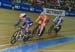 Hammer leading Wild and Duehring 		CREDITS:  		TITLE: 2017 Track World Championships 		COPYRIGHT: Rob Jones/www.canadiancyclist.com 2017 -copyright -All rights retained - no use permitted without prior; written permission
