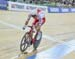 Teklinski tries to stay away 		CREDITS:  		TITLE: 2017 Track World Championships 		COPYRIGHT: Rob Jones/www.canadiancyclist.com 2017 -copyright -All rights retained - no use permitted without prior; written permission