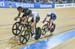 Meyer, Gough, Stewart take a lap 		CREDITS:  		TITLE: 2017 Track World Championships 		COPYRIGHT: Rob Jones/www.canadiancyclist.com 2017 -copyright -All rights retained - no use permitted without prior; written permission