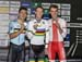 de Ketele , Meyer, Pszczolarski  		CREDITS:  		TITLE: 2017 Track World Championships 		COPYRIGHT: Rob Jones/www.canadiancyclist.com 2017 -copyright -All rights retained - no use permitted without prior; written permission