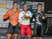 Podium: Lavreysen, Dmitriev, Mitchell 		CREDITS:  		TITLE: 2017 Track World Championships 		COPYRIGHT: Robert Jones-Canadian Cyclist