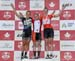 Marianne Theberge, Roxane Vermette, Dana Gilligan 		CREDITS:  		TITLE: 2017 XC Championships 		COPYRIGHT: Rob Jones/www.canadiancyclist.com 2017 -copyright -All rights retained - no use permitted without prior; written permission