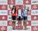 Kaitlyn Shikaze, Julianne Sarrazin, Laurence Levesque 		CREDITS:  		TITLE: 2017 XC Championships 		COPYRIGHT: Rob Jones/www.canadiancyclist.com 2017 -copyright -All rights retained - no use permitted without prior; written permission